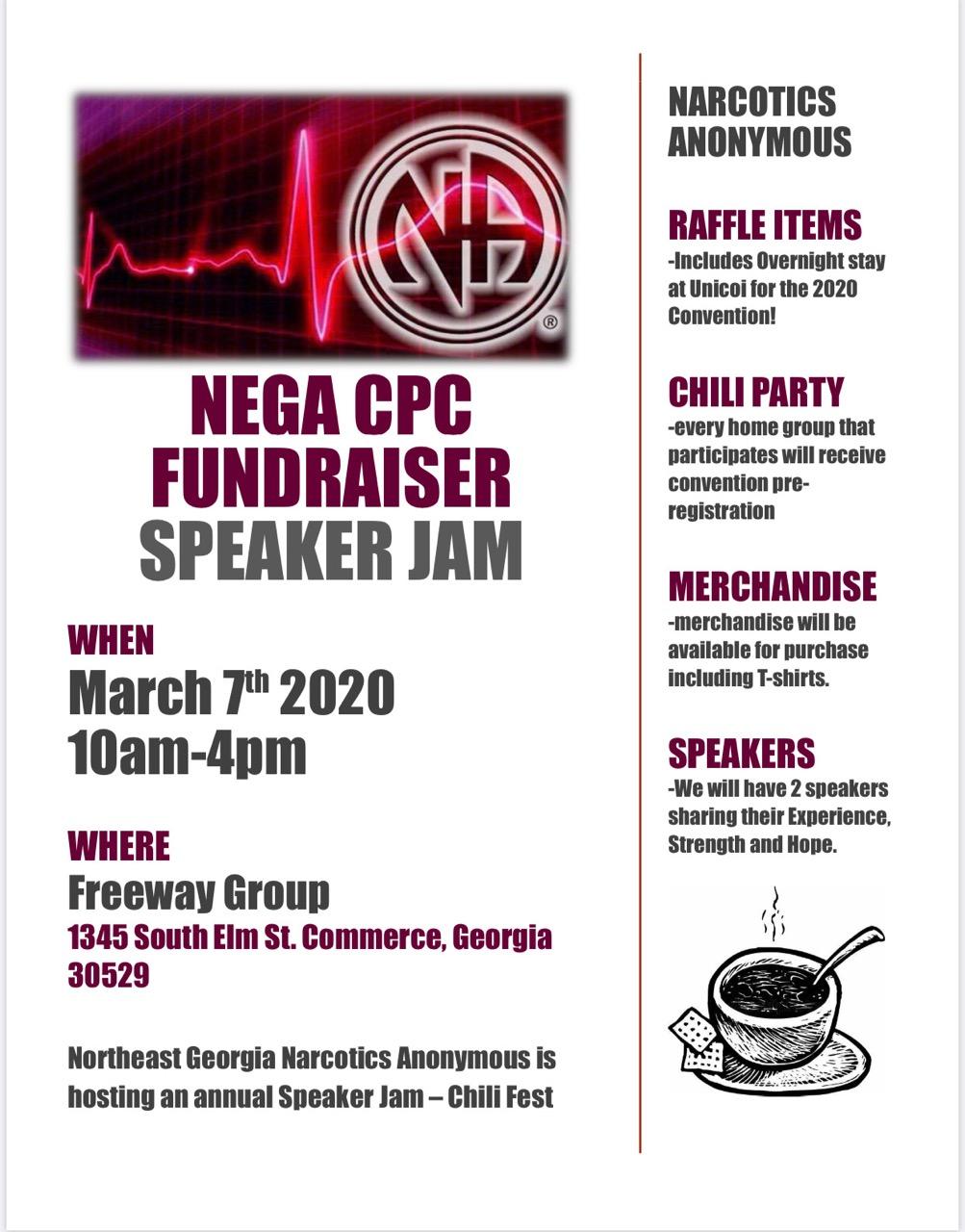 CPC Speaker Jam